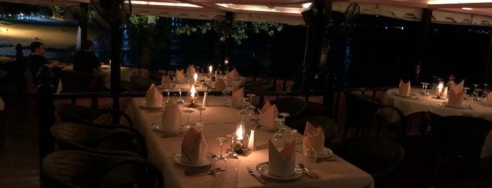 Ban Rim Pa Restaurant is one of Tempat yang Disukai Hope.