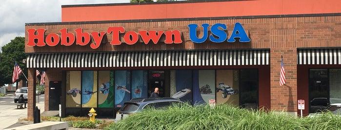 HobbyTown USA is one of สถานที่ที่บันทึกไว้ของ Ryan.