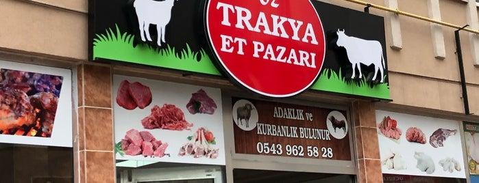Öz Trakya Et Pazarı is one of Posti che sono piaciuti a Berk.
