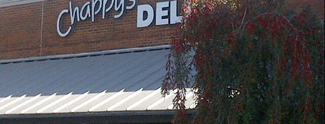 Chappy's Deli is one of Adventures in Dining: The South.