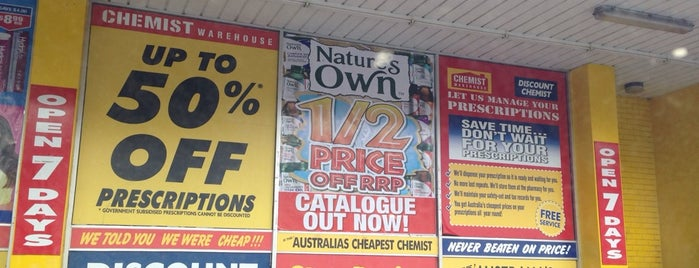 Chemist Warehouse is one of Syd - Melb.