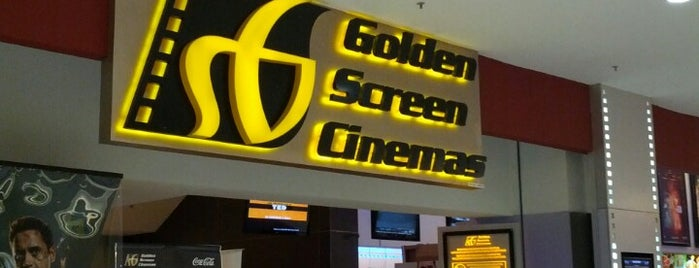 Golden Screen Cinemas (GSC) is one of Locais salvos de Al-Fateh.