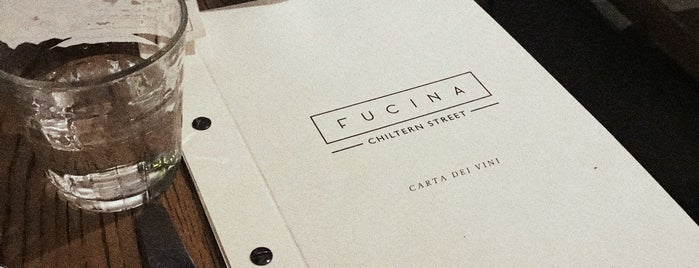 Fucina is one of London List.