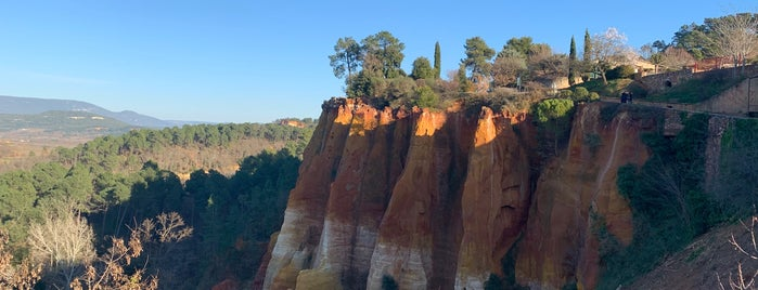 Roussillon is one of Provence.