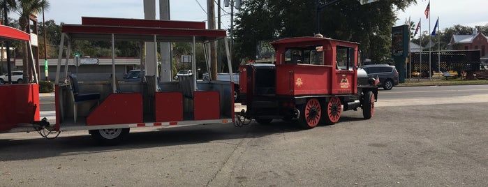 Ripley's Red Sightseeing Trains is one of Florida.
