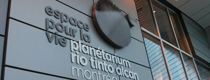 Planétarium Rio Tinto Alcan is one of Locais salvos de Beril.