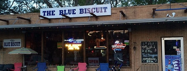 The Blue Biscuit is one of Indianola/Mississippi hometown things.