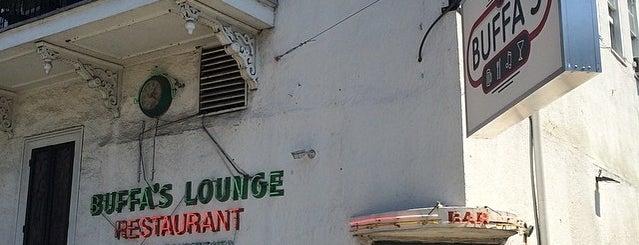 Buffa's Lounge is one of uwishunu new orleans.