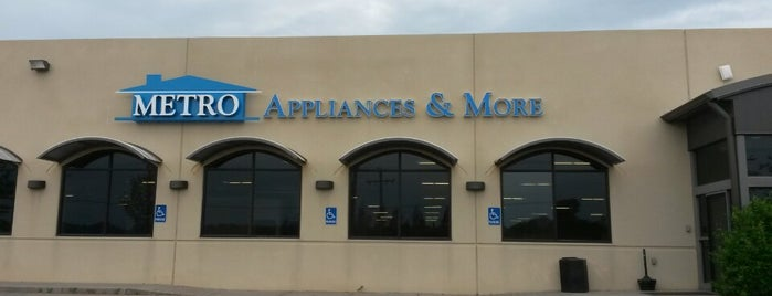 Metro Appliances & More is one of Places To Shop.