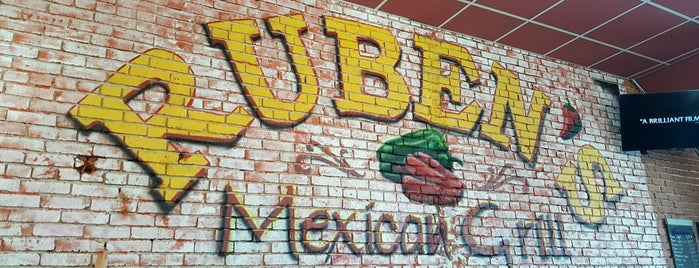 Ruben's Mexican Grill is one of Restaurants I Want To Try.
