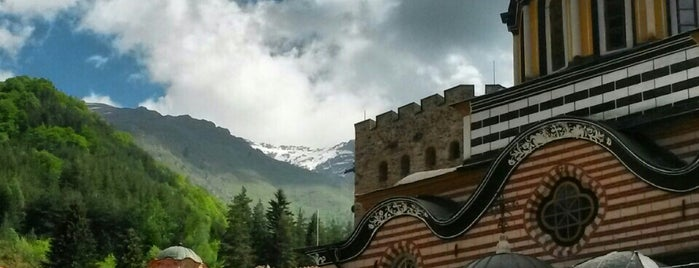 Рилски манастир (Rila Monastery) is one of Bulgaria.