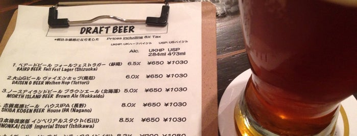 BEER Komachi is one of Kyoto.