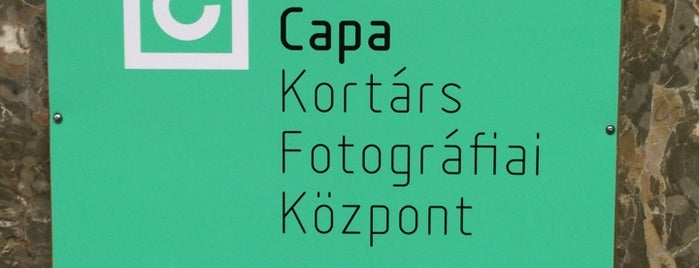 Robert Capa Contemporary Photography Center is one of Budapest To-Do List.