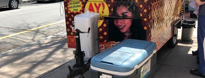 Yale New Haven Food Carts is one of Lugares guardados de Arsalan.