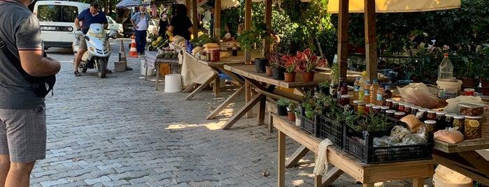 Özbek Köyü Pazarı is one of Zuhal'ın Kaydettiği Mekanlar.