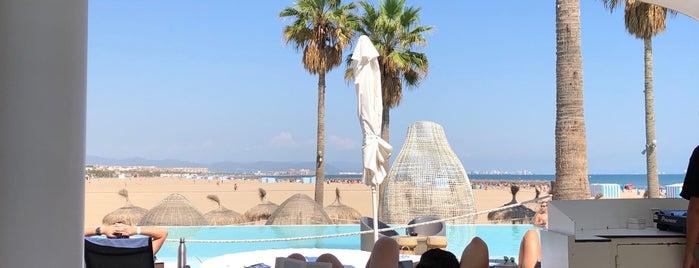 Marina Beach Club is one of Valencia - bars.