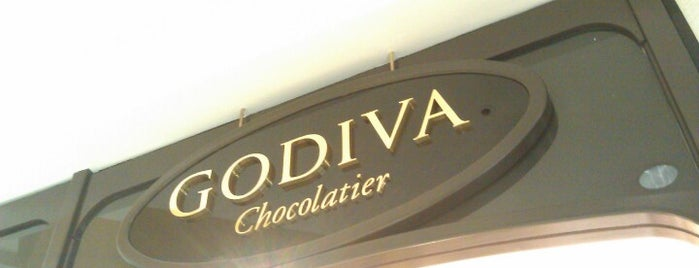 Godiva Chocolatier is one of Lieux sauvegardés par tricia.