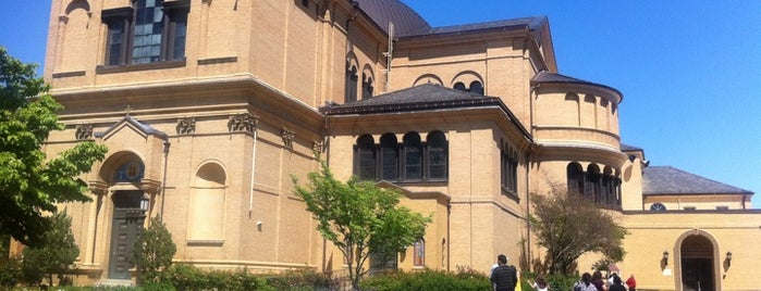 Franciscan Monastery of the Holy Land in America is one of DC Bucket List 2.