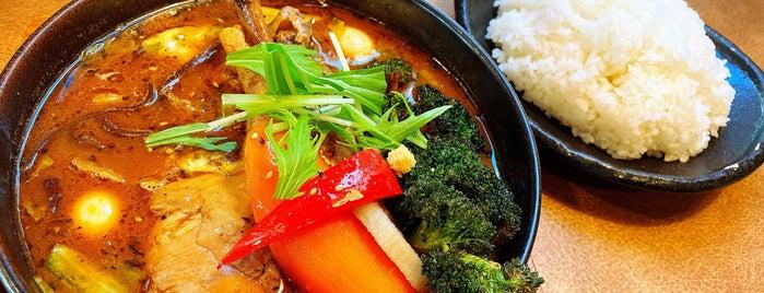 Soup Curry GARAKU is one of Yuka's Saved Places.