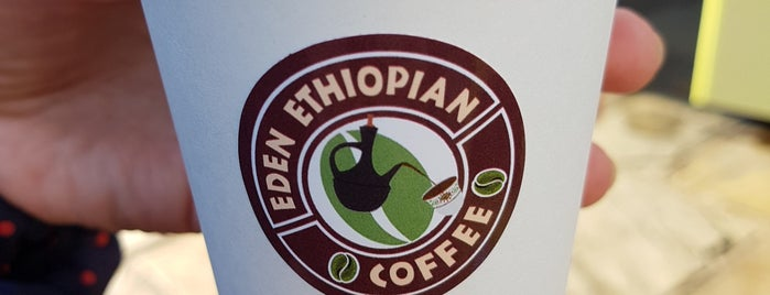 Fresh Ethiopian Coffee/Food is one of My Saved Venues Abroad.