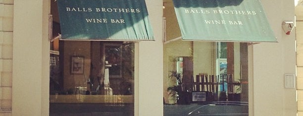 Balls Brothers is one of London.