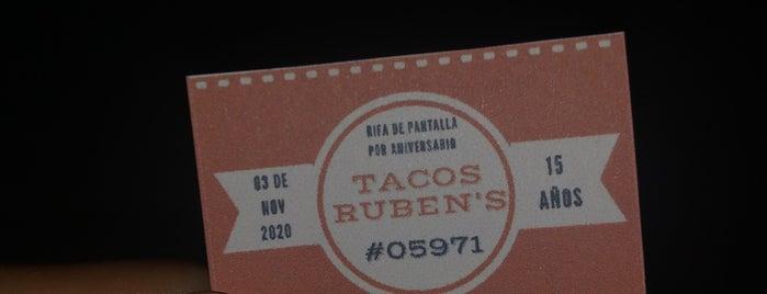 """Tacos """"Ruben's"""". is one of Rocio'nun Kaydettiği Mekanlar."""