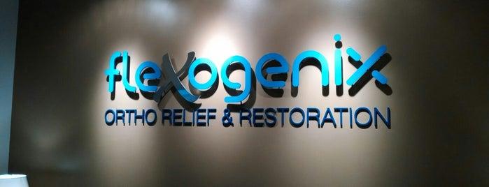 flexogenix (Ortho Relief & Restoration) is one of Locais salvos de Bridget.