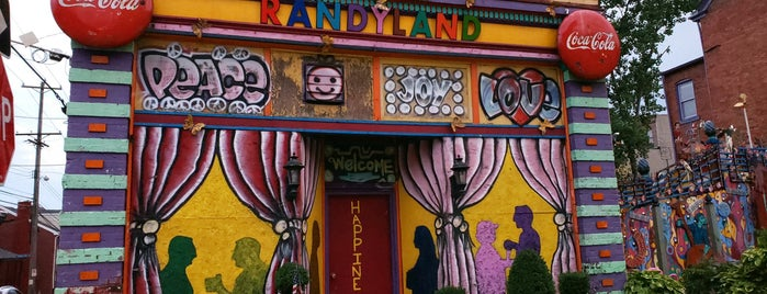 Randyland is one of Pittsburgh To Do.