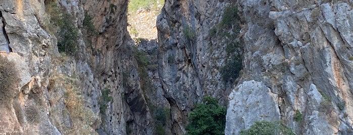 Kapuz Kanyonu is one of Antalya.