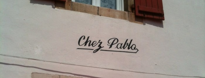 Chez Pablo is one of Mes meilleures adresses.