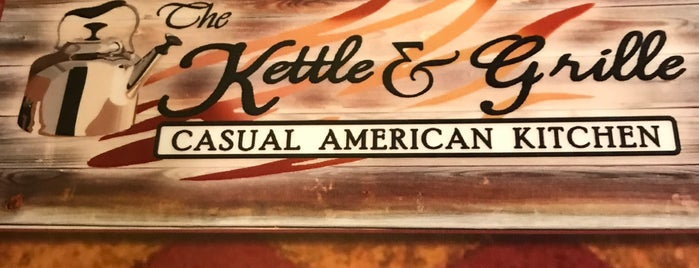 The Kettle & Grille is one of Jersey.