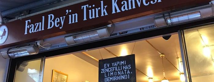 Fazıl Bey'İn Türk Kahvesi Bahariye is one of Istanbul.