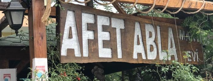 Afet Abla is one of Sina: сохраненные места.