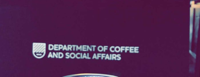Department of Coffee and Social Affairs is one of London trip.