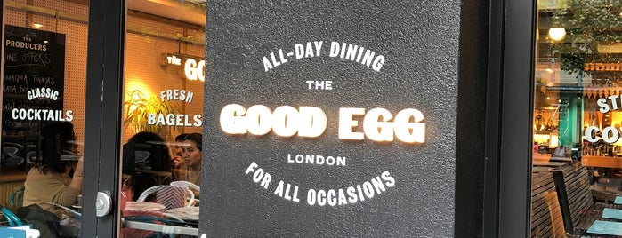 The Good Egg is one of London.