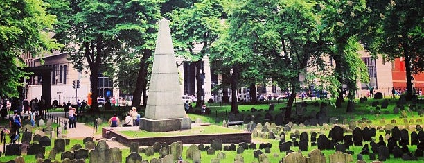 Granary Burying Ground is one of Boston to visit.