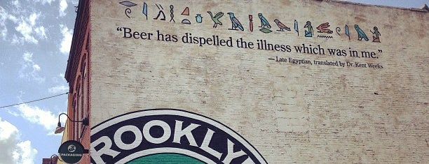 Brooklyn Brewery is one of 20 Great Spots for a Summer Beer in NYC.