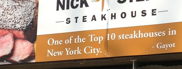 Nick & Stef's Steakhouse is one of NYC Restaurant Week Uptown.