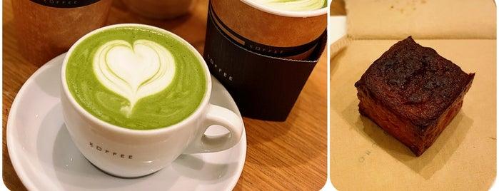 Omotesando Koffee is one of สถานที่ที่บันทึกไว้ของ Sergio.