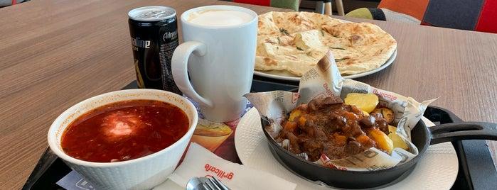 Mgrill Cafe is one of Tempat yang Disukai Alexander.