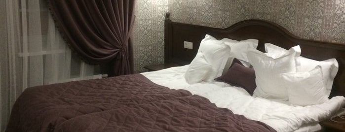 Атлас Делюкс готель / Atlas Deluxe Hotel is one of Evgesha : понравившиеся места.