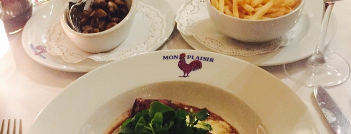 Mon Plaisir is one of Around the World in London Food.