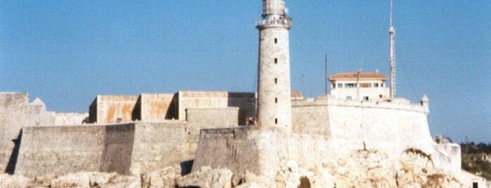 Castillo de los Tres Reyes del Morro is one of Ciudad de La Habana, Cuba.