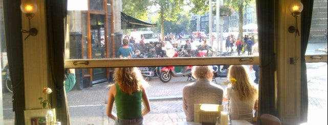 Café Stevens is one of Amsterdam terraces.