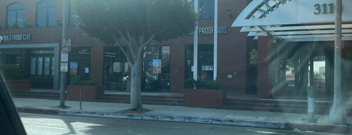 Bulletproof Coffee is one of Los Angeles cafes.