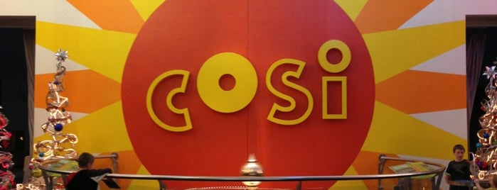 Center of Science and Industry (COSI) is one of Lugares favoritos de Mark.
