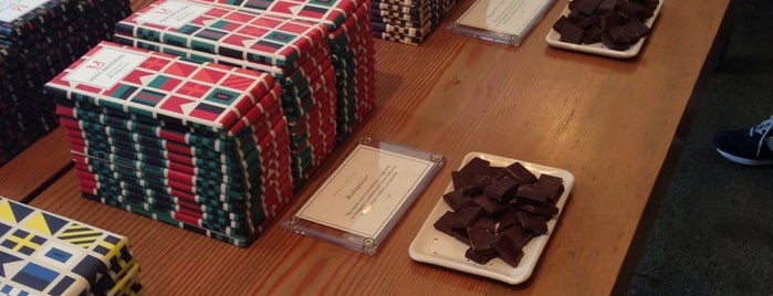 Mast Brothers Chocolate Factory is one of USA NYC BK Williamsburg.
