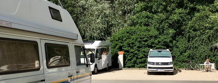 Wohnmobilhafen Erding is one of Camping Stops.