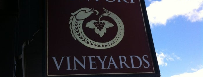 Newport Vineyards is one of Newport favorites.