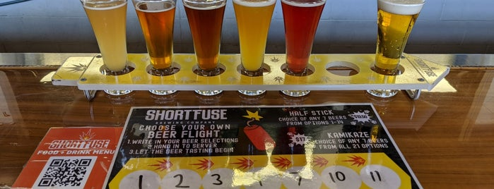 Short Fuse Brewing is one of Chicago (Never been).